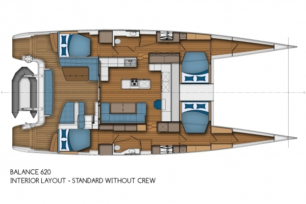 Balance 620 - Interior Layout - Standard without Crew