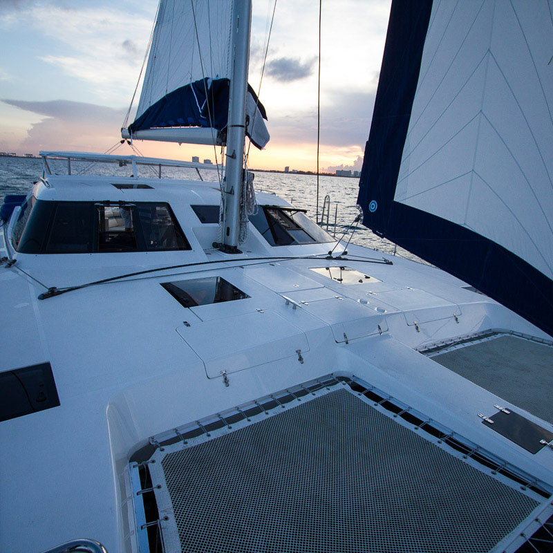 Multihulls World Reviews the Balance 451