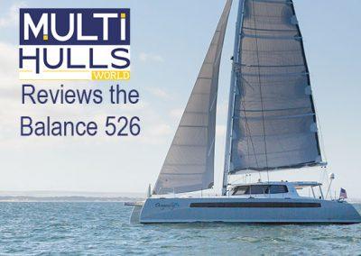 Multihulls World Reviews the Balance 526