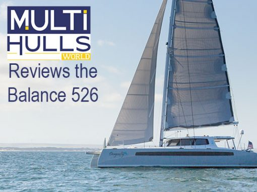 Multihulls World Reviews the Balance 526
