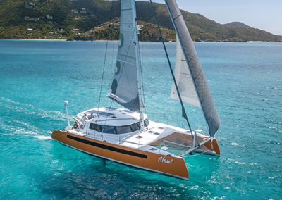 Balance Catamarans Rally in the Virgin Islands