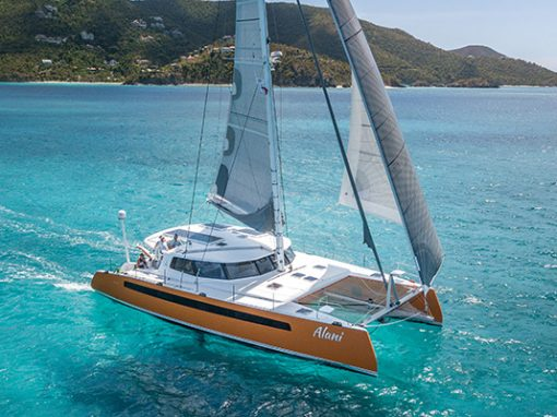 Balance Catamarans Rally in the Virgin Islands