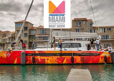 Balance Catamarans On Display At The 2020 Miami Boat Show