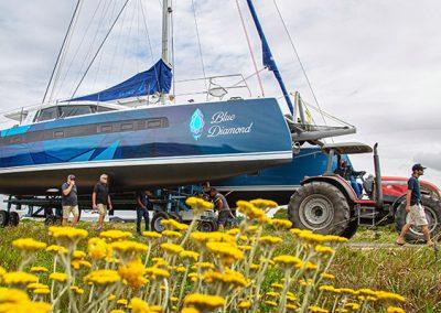 "Balance Launches 526 Hull #9 ""Blue Diamond"""