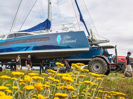 "Balance Launches 526 Hull #9 ""Blue Diamond"""