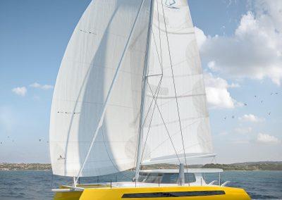 Building a Balance 482 Catamaran