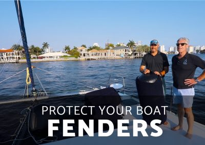 Why are Fenders great for protecting your Boat?